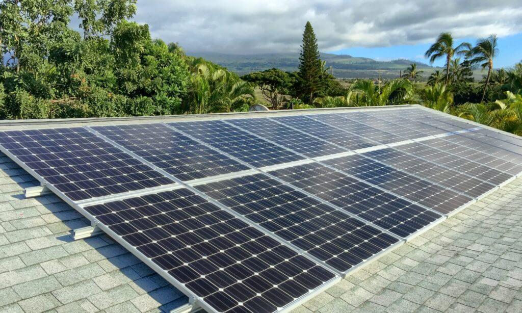 Solar Modules on Maui