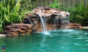 Pool Water Fall