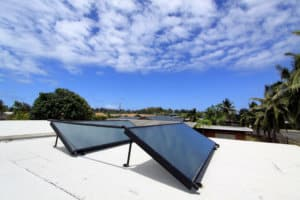 Rooftop Solar Thermal Panels