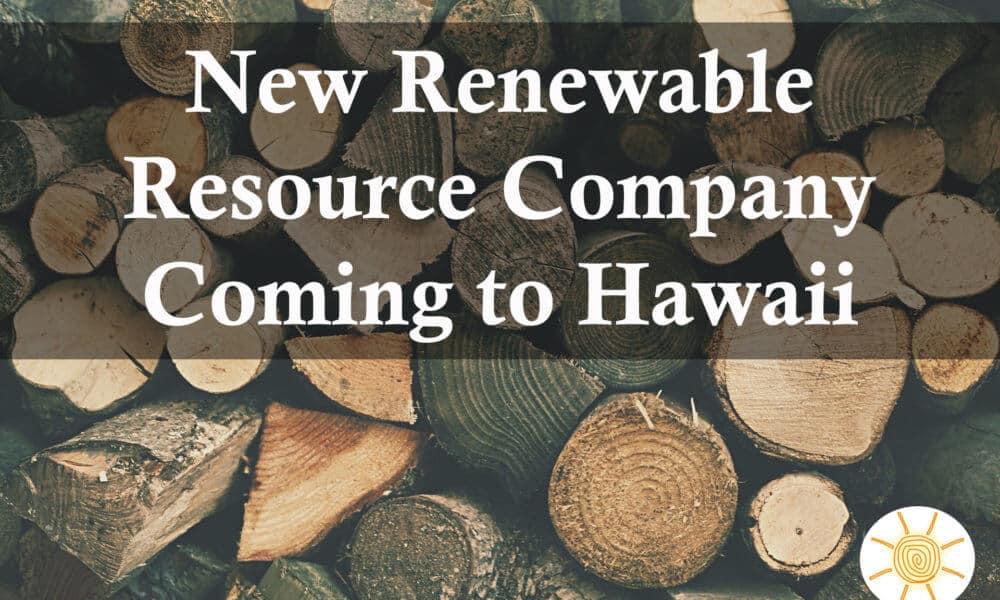 Colorado Renewable Company Coming to Hawaii