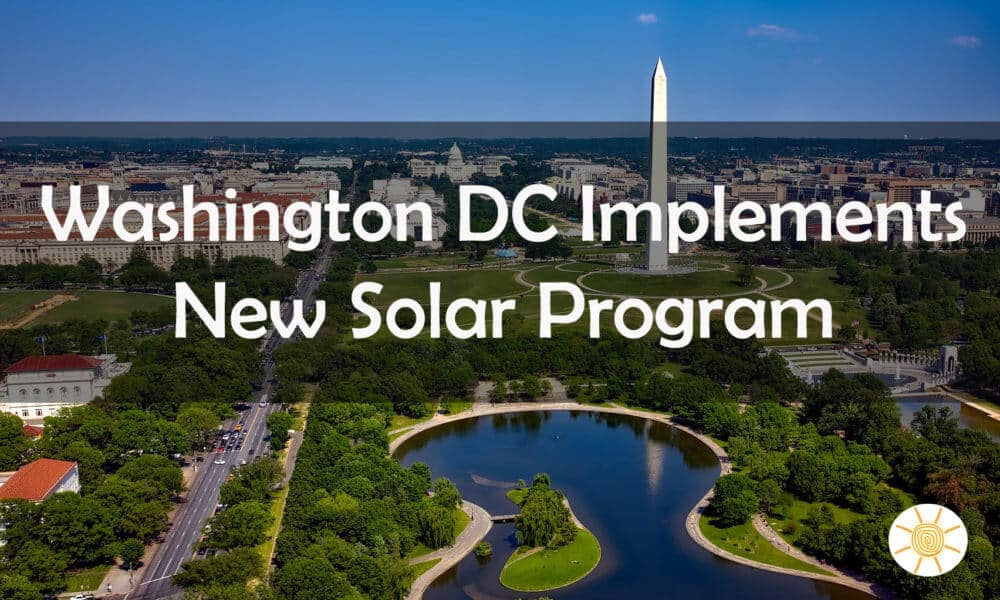 DC Solar Project for Low-Income Housing and Youth Career Training