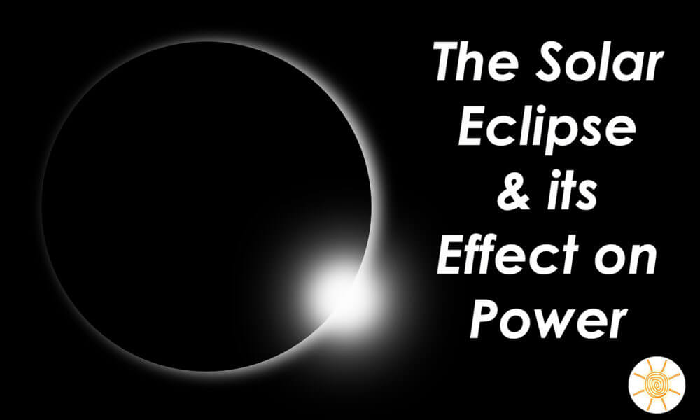 How Much did the Solar Eclipse Effect Energy Production?