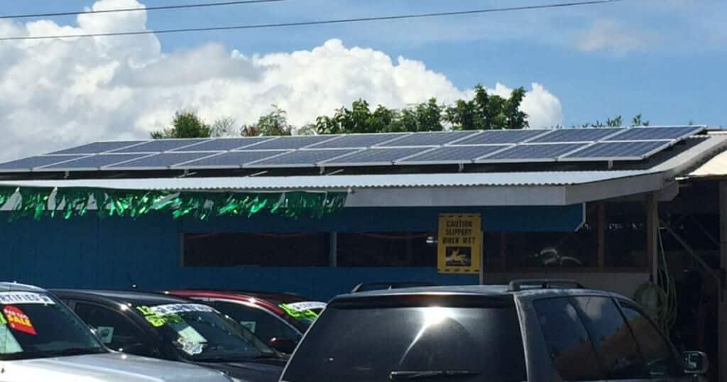 Maui Solar Products