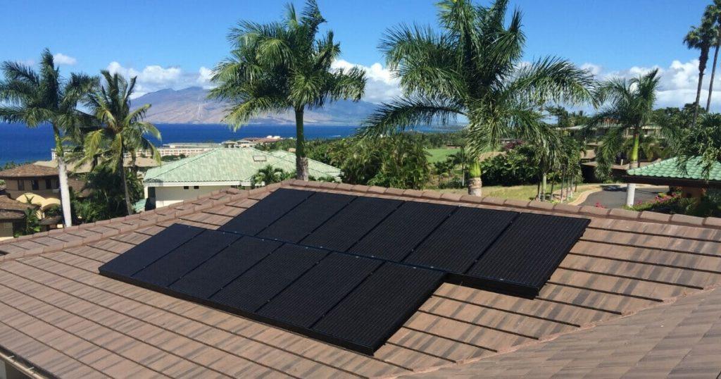 Residential Solar Power System Maui