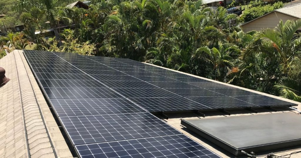 Solar Panel Systems For Homes In Hawaii