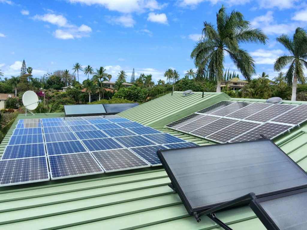 Hawaii PV solar Panels