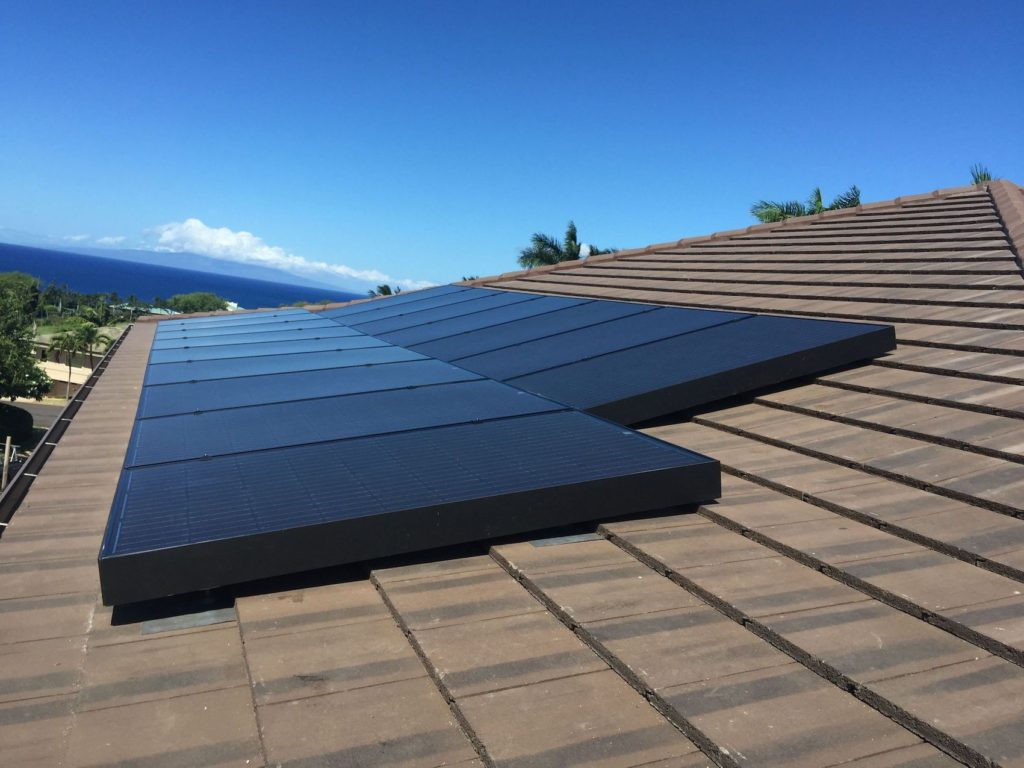 Solar powered systems for homes on Maui 2
