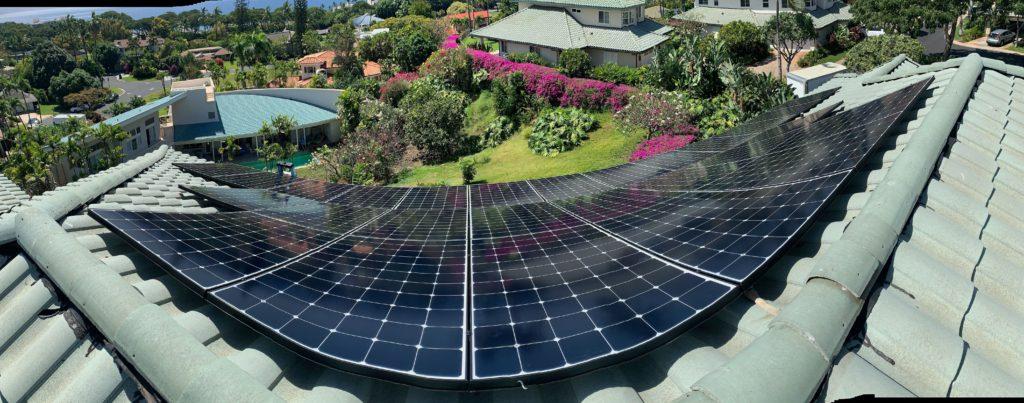 Solar PV system on Maui 2