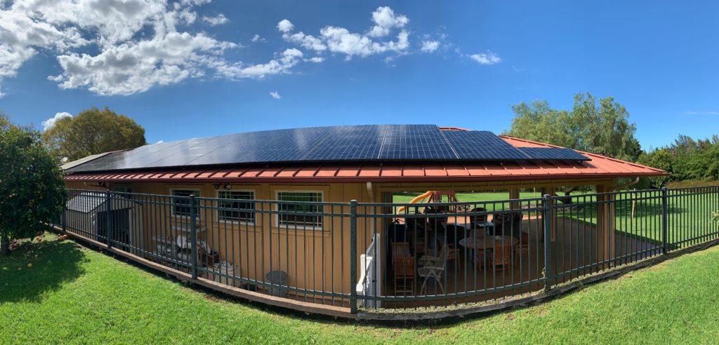 Maui solar project