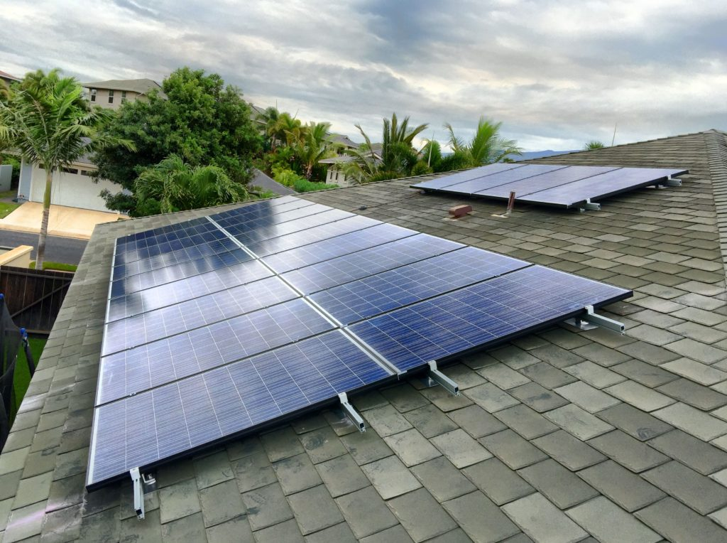 Solar Panels for Electricity on Maui
