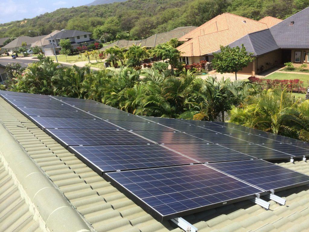 Solar energy on Maui