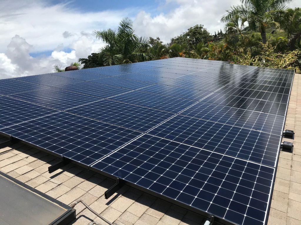 Maui solar energy systems on Maui