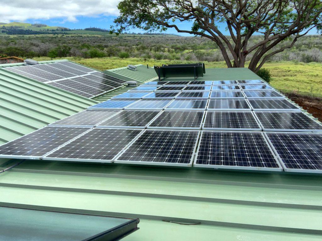 cheap solar panels on Maui