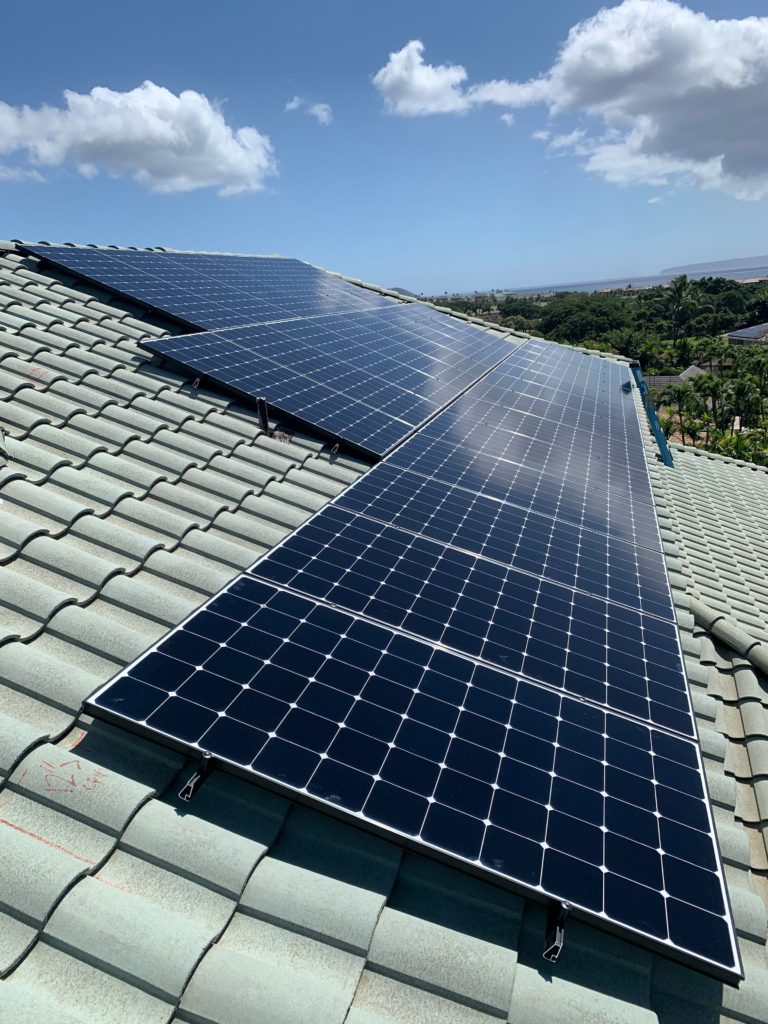 Solar Panels To Save Electricity On Maui