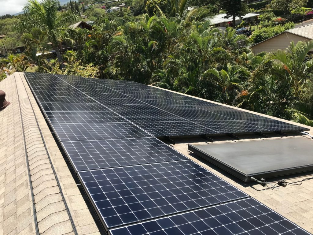 solar panel systems for homes in maui