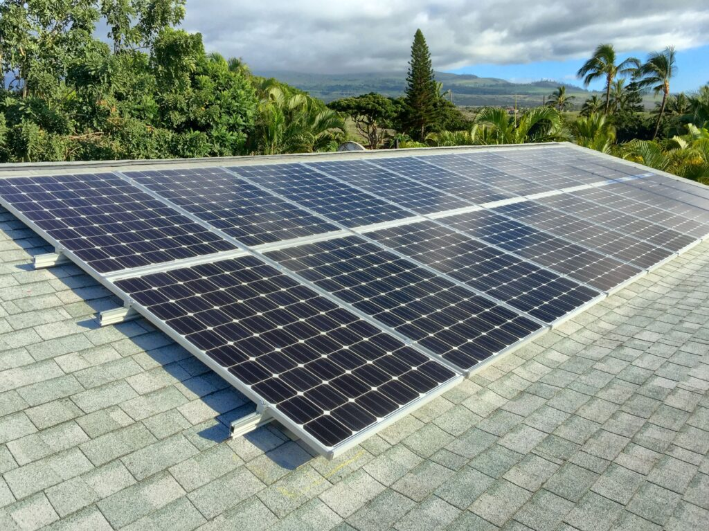 residential solar panels on maui iii