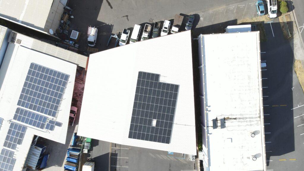 Solar Roof Installation on Maui